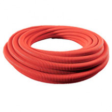 Шланг ассенизаторский морозостойкий ПВХ 51 мм (50 м) чёрный с красной спиралью Португалия (м)
