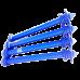 Гидрант пожарный подземный чугун 1500 мм Ру10 синий