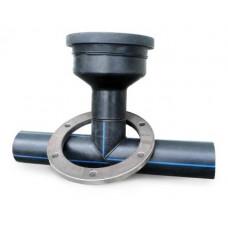 ПНД подставки сварку с трубой 110 мм