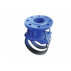 Хомутовый отвод (седло) фланцевый