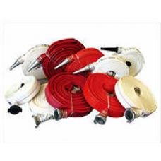 Рукав пожарный для ПК в сборе с ГР (1,0МПа) 50 мм с головками В скатках с ГР-50(алюминиевые), для ПК, 1,0 Мпа